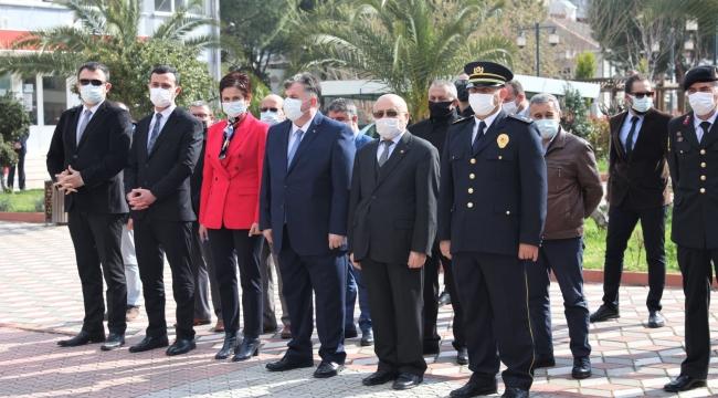 KINIK'TA TÜRK POLİS TEŞKİLATININ 176'INCI YIL DÖNÜMÜ KUTLANDI