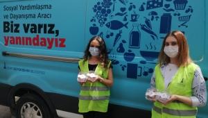 Başkan Soyer Kadir gecesini kutladı, Büyükşehir iftar paketiyle birlikte kandil simidi dağıttı
