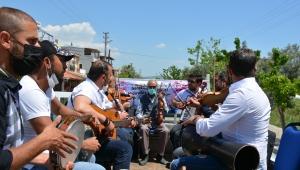 Dikili'de Hıdırellez Kutlamasında Müzisyenler Unutulmadı