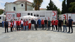 Başkan İduğ'dan Türk Kızılay'ına destek