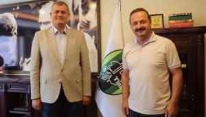 Yavuz Ağıralioğlu'ndan Başkan Duran'a Ziyaret