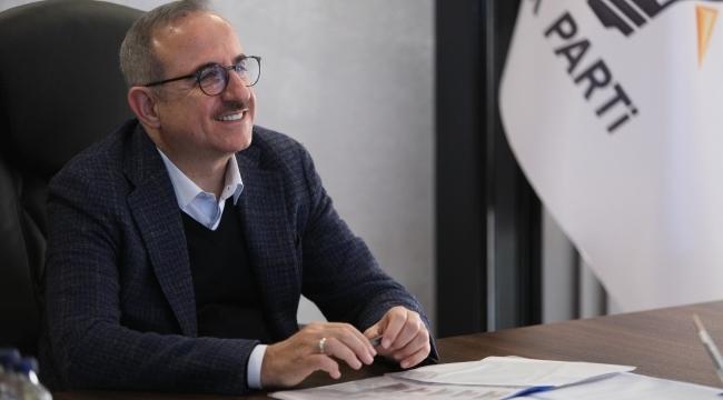 AK Parti İzmir İl Başkanı Kerem Ali Sürekli'den Kurban Bayramı Mesajı