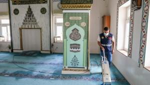 Kurban Bayramı öncesi camiler pırıl pırıl