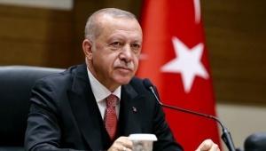 Cumhurbaşkanı Erdoğan BAE Veliaht Prensi ile görüştü