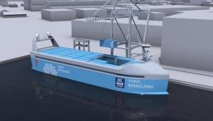 Norveç'te elektrikli kargo gemisi inşa edildi