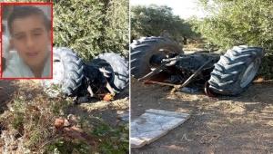 14 yaşındaki çocuk, traktörün altında kalıp hayatını kaybetti
