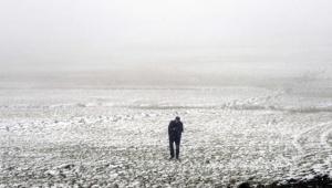Ardahan'da Kar yağışı ve sis etkili oluyor
