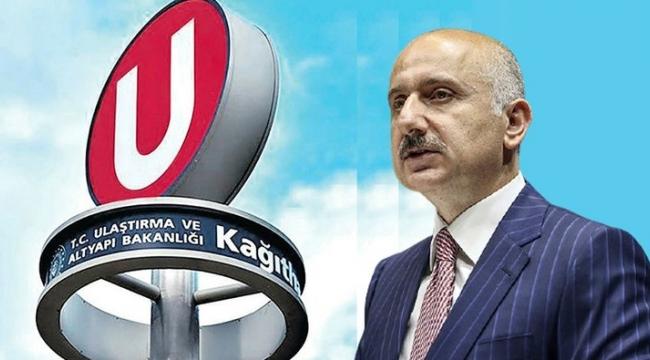 Bakan Karaismailoğlu'ndan son dakika 'U' logosu açıklaması! 'Hiç kimse emek hırsızlığı yapmasın'