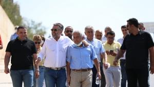 Başkan Sandal'ın mahalle mesaisi aralıksız devam ediyor