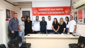 SERDAR SANDAL CHP BAYRAKLI GENÇLİK KOLLARI'YLA BULUŞTU