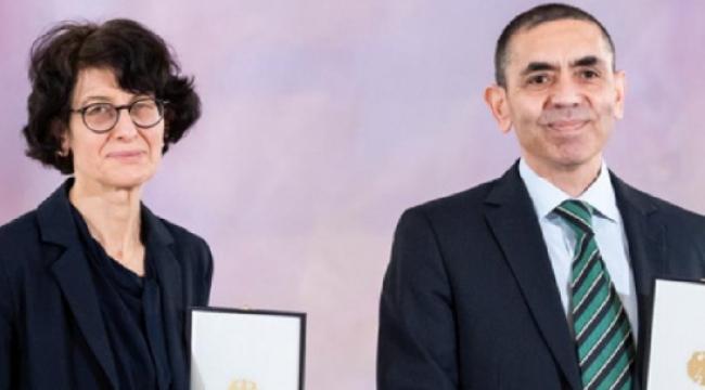 Uğur Şahin ve Özlem Türeci Almanya'nın en prestijli bilim ödülüne layık görüldü