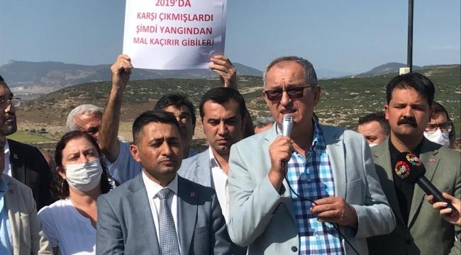 CHP'li Sertel: Menemen'in geleceğini ranta kurban etmeyeceğiz