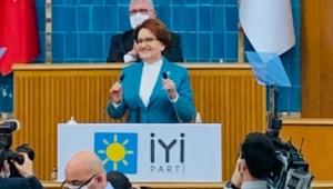 İYİ Parti Genel Başkanı Meral Akşener: Haydi Erdoğan vakit hesap vakti