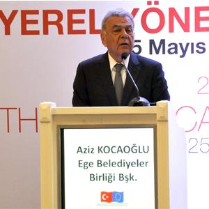 Başkan Kocaoğlu Etik Kurulu'nun panelinde konuştu