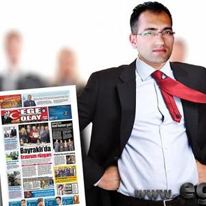 Ege Olay Gazetesi 3 yaşında
