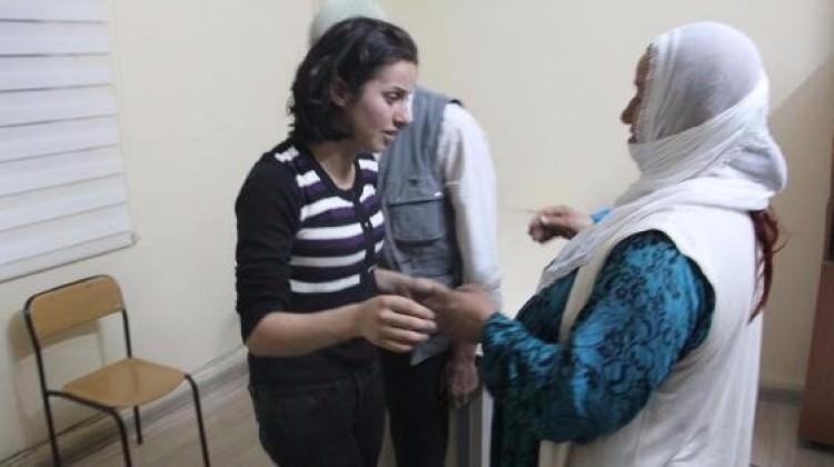 O PKK'lı kadın terörist ailesi ile buluştu!