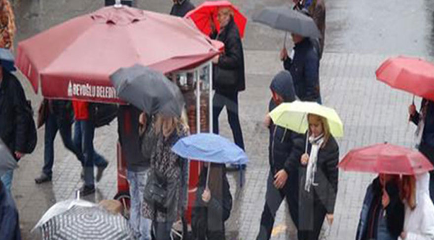 Marmara için 'kuvvetli' yağış uyarısı!