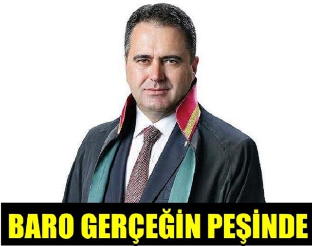 İZMİR BAROSU YALANI AFFETMİYOR