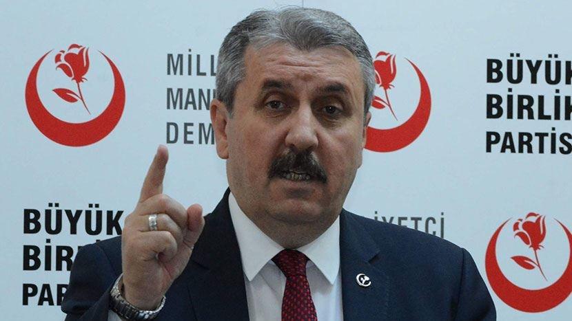 BBP lideri Mustafa Destici'den dikkat çeken 'bedelli askerlik' önerisi