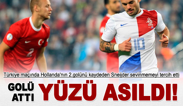 Sneijder Neden Sevinmediğini Açıkladı