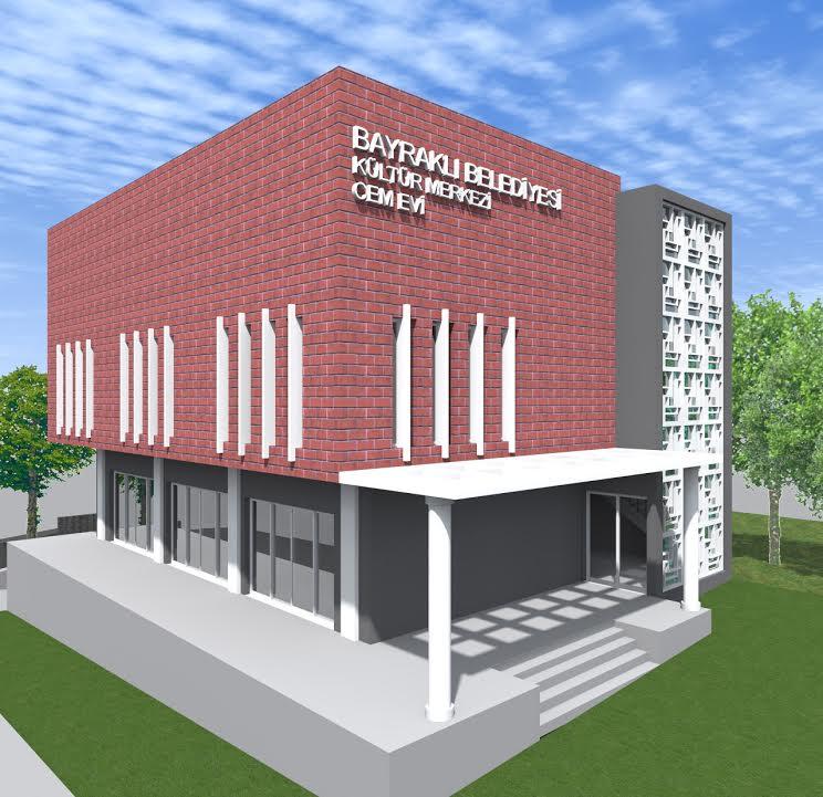 Kültür merkezi ve cemevi projesinin temeli atıldı