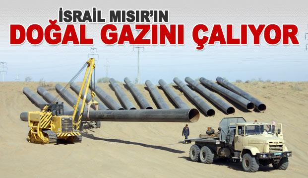 İsrail Mısır'ın doğalgazını çalıyor