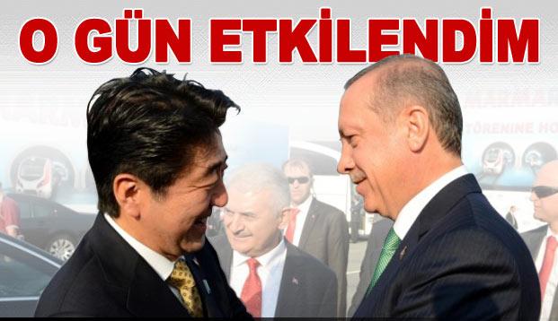 """Başbakan Abe: """"O gün Erdoğan'dan etkilendim"""""""