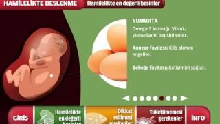 Hamileler için beslenme kılavuzu