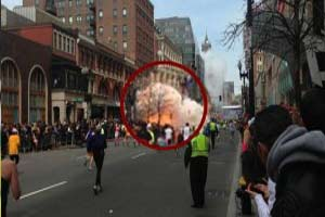 Boston Maratonun'da Patlama